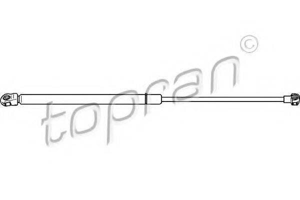 TOPRAN 109902 Амортизатор багажника