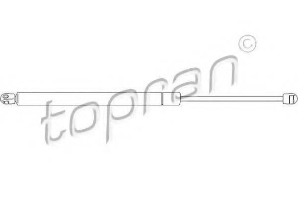 TOPRAN 112070 Амортизатор багажника