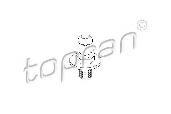 TOPRAN 103542 Замок двери
