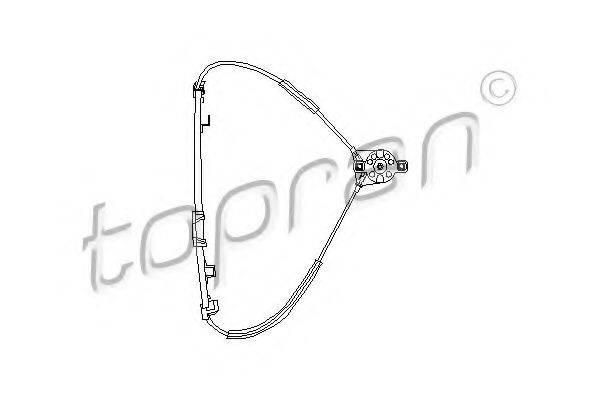 TOPRAN 102885 Стеклоподъемник