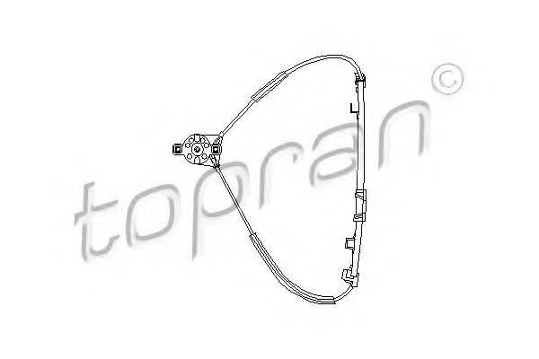 TOPRAN 102887 Стеклоподъемник
