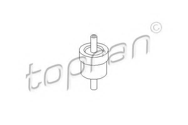 TOPRAN 111298 Клапан, вакуумный насос