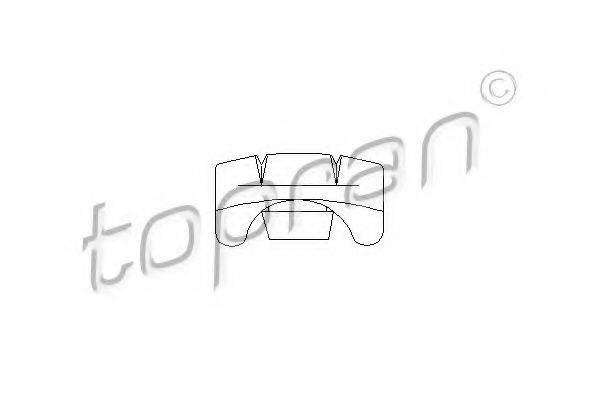 TOPRAN 103635 Регулировочный элемент, регулировка сидения