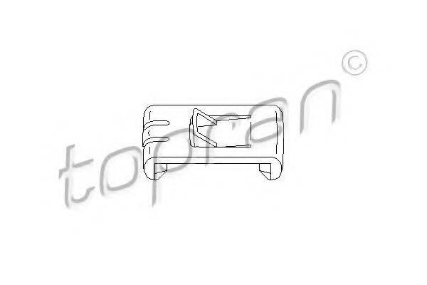 TOPRAN 102673 Регулировочный элемент, регулировка сидения