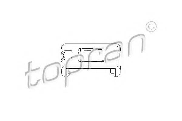 TOPRAN 102921 Регулировочный элемент, регулировка сидения