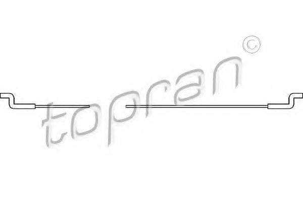 TOPRAN 102922 Трос, регулировка спинки сидения
