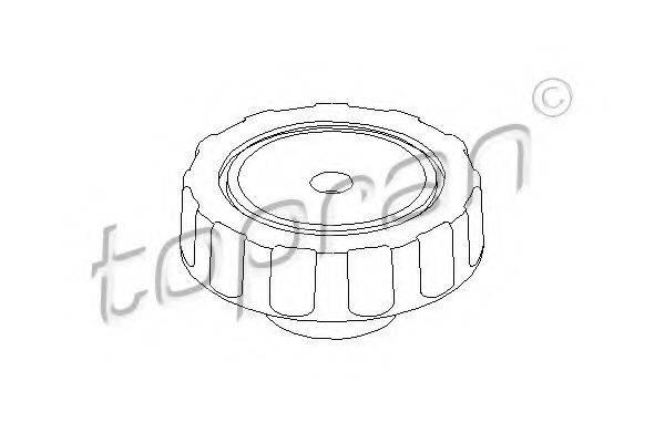 TOPRAN 102924 Поворотная ручка, регулировка спинки сидения