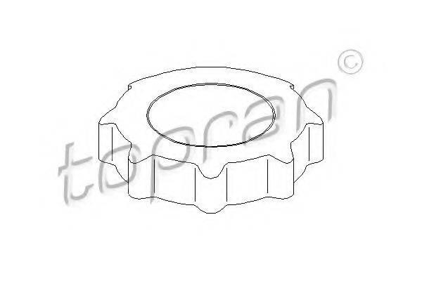 TOPRAN 109519 Поворотная ручка, регулировка спинки сидения