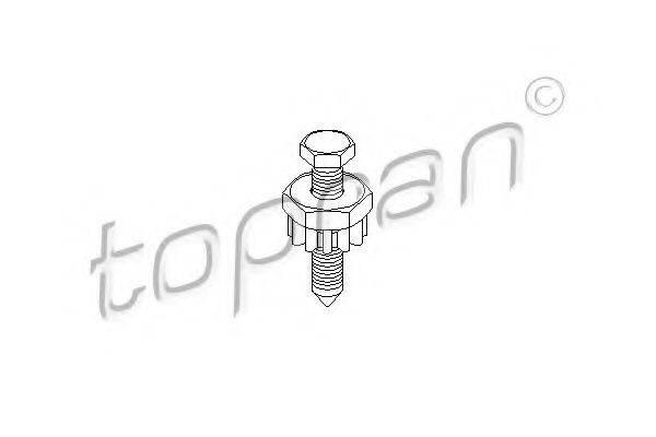 TOPRAN 100663 Затяжной болт, крепление генератора
