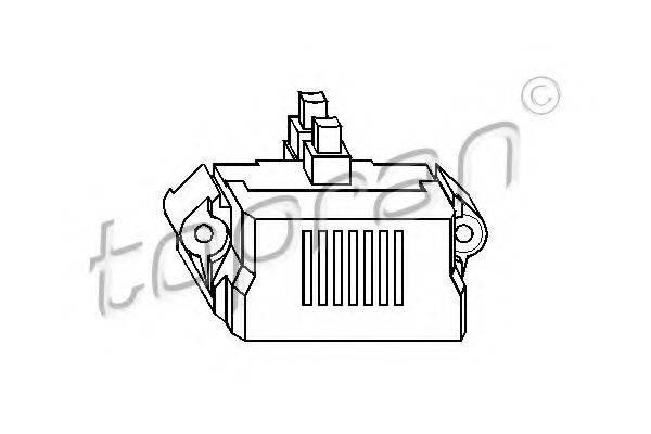 TOPRAN 107390 Регулятор генератора