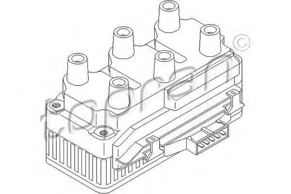 TOPRAN 108957 Коммутатор системы зажигания