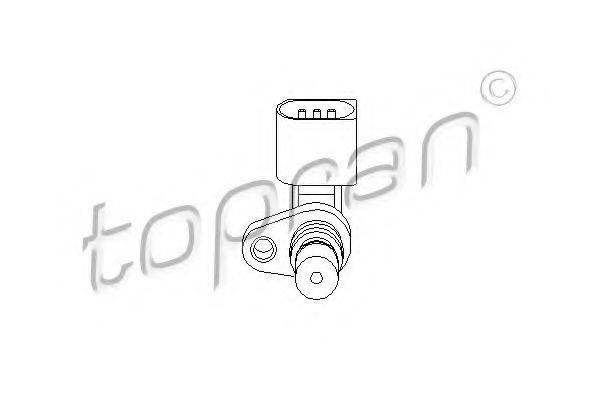 TOPRAN 111384 Датчик положения коленвала