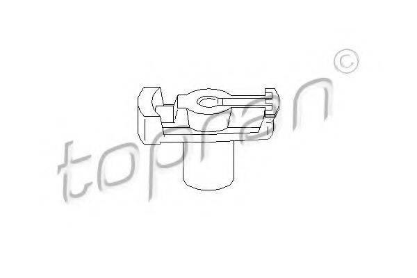 TOPRAN 100708 Бегунок распределителя зажигания