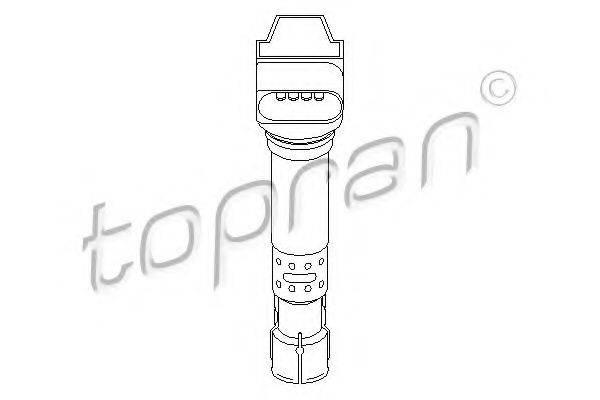 TOPRAN 109039 Катушка зажигания