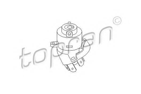TOPRAN 101895 Переключатель зажигания