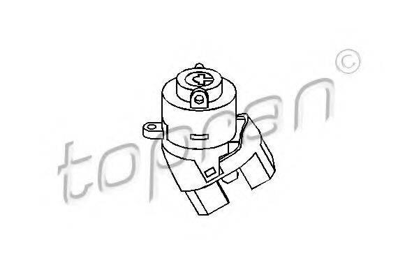 TOPRAN 103561 Переключатель зажигания