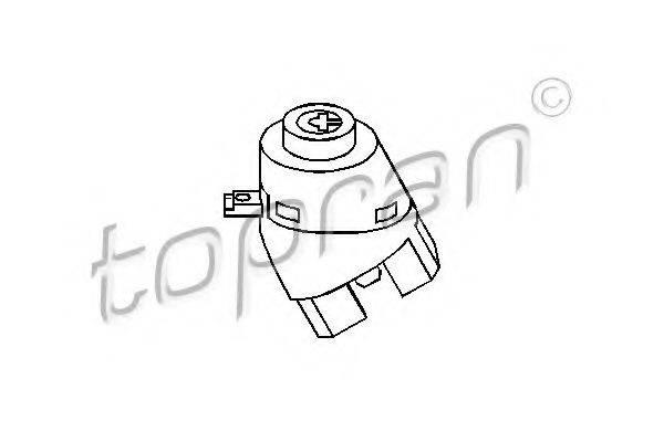TOPRAN 108511 Переключатель зажигания