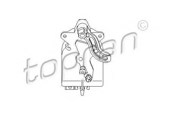 TOPRAN 111094 Регулировочный элемент, смесительный клапан