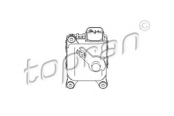 TOPRAN 111093 Регулировочный элемент, смесительный клапан