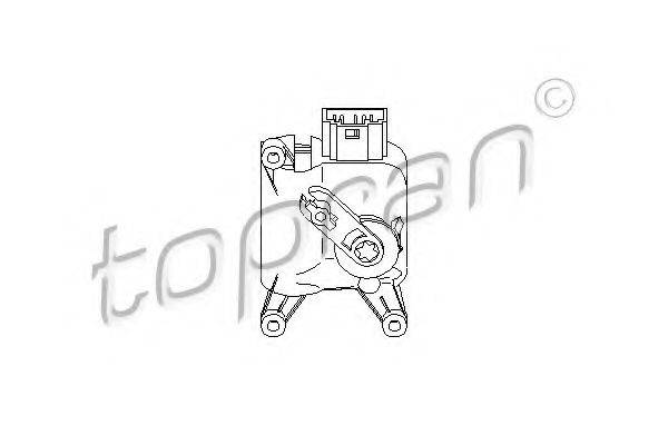 TOPRAN 111097 Регулировочный элемент, смесительный клапан
