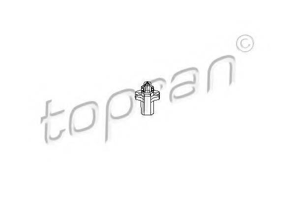 TOPRAN 103628 Лампа накаливания, освещение щитка приборов