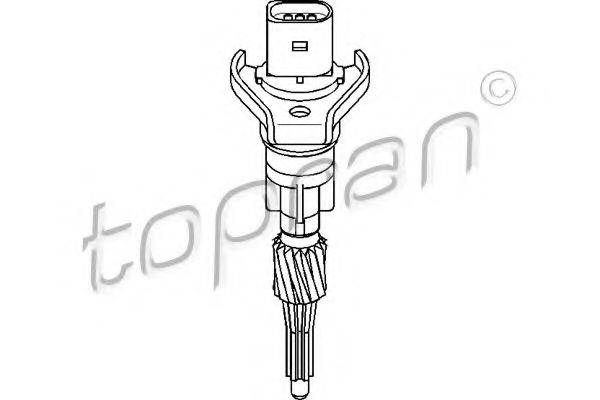 TOPRAN 109751 Датчик, участок пути