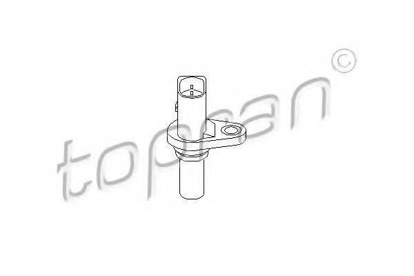 TOPRAN 110672 Датчик, скорость