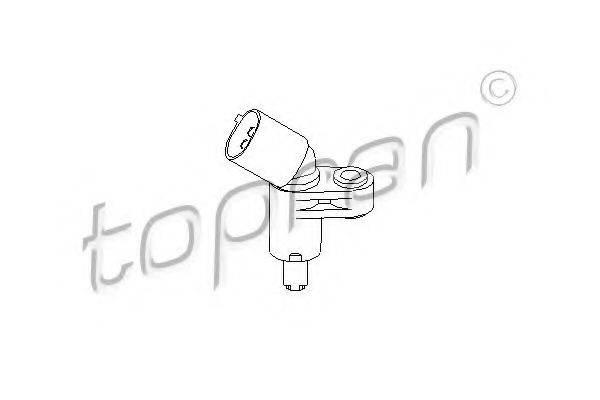 TOPRAN 109752 Датчик АБС