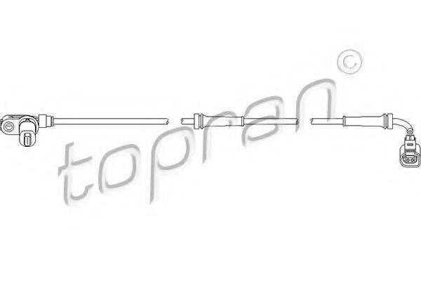 TOPRAN 110490 Датчик АБС