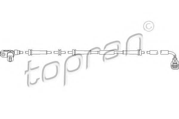 TOPRAN 110491 Датчик АБС