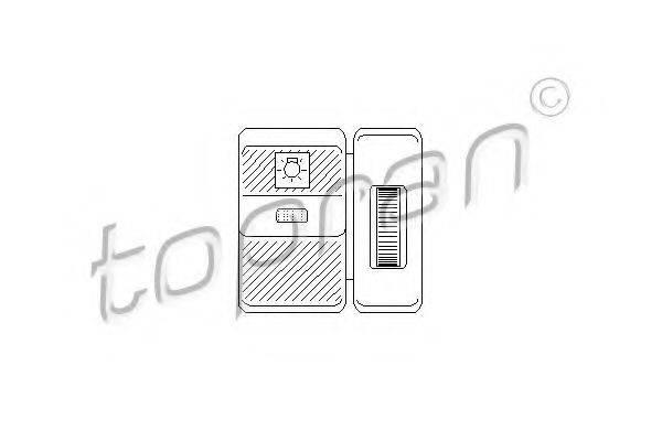 TOPRAN 103569 Выключатель, головной свет