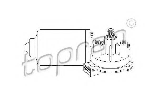 TOPRAN 108577 Двигатель стеклоочистителя