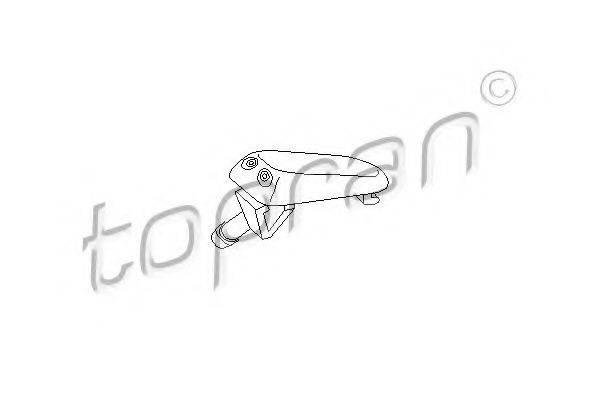 TOPRAN 102968 Распылитель омывателя