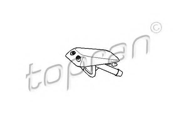 TOPRAN 104439 Распылитель омывателя