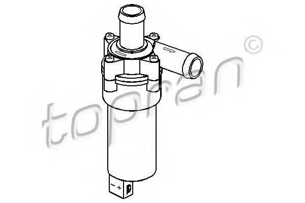TOPRAN 107696 Дополнительный водяной насос