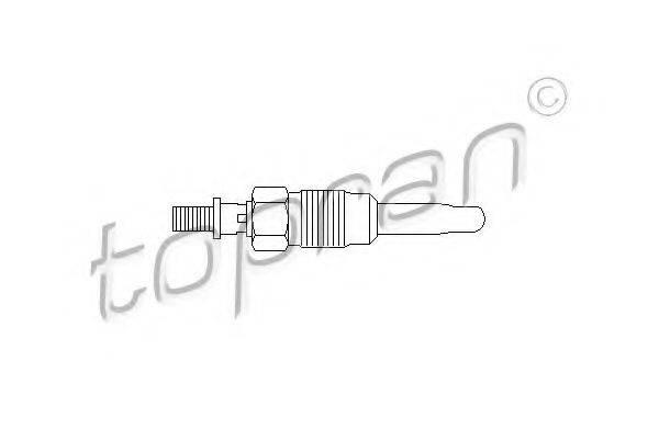 TOPRAN 107117 Свеча накаливания