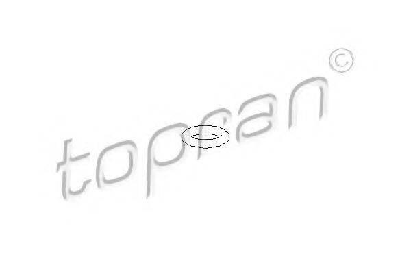 TOPRAN 108648 Прокладка, направитель масла