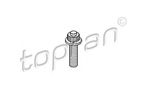 TOPRAN 108642 Болт шкива
