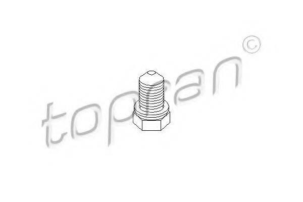 TOPRAN 109035 Пробка поддона