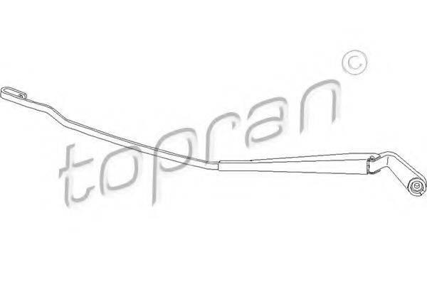 TOPRAN 113481 Рычаг стеклоочистителя, система очистки окон