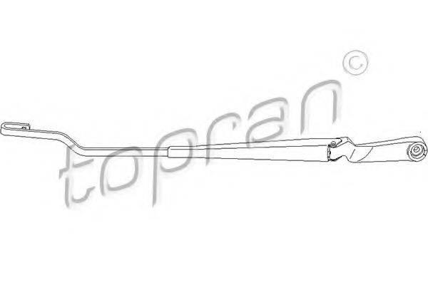 TOPRAN 113480 Рычаг стеклоочистителя, система очистки окон