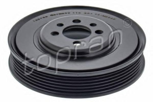 TOPRAN 110801 Ременный шкив, коленчатый вал