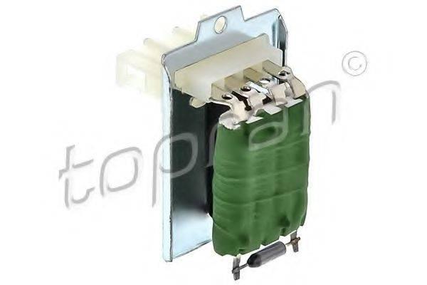 TOPRAN 104116 Сопротивление, вентилятор салона