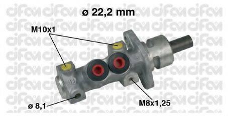 CIFAM 202489 Главный тормозной цилиндр