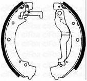 CIFAM 153469 Тормозные колодки барабанные
