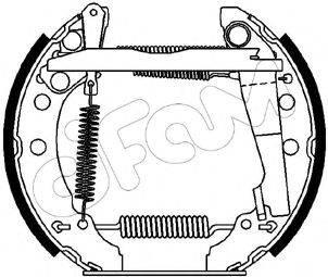 CIFAM 151045 Тормозные колодки барабанные