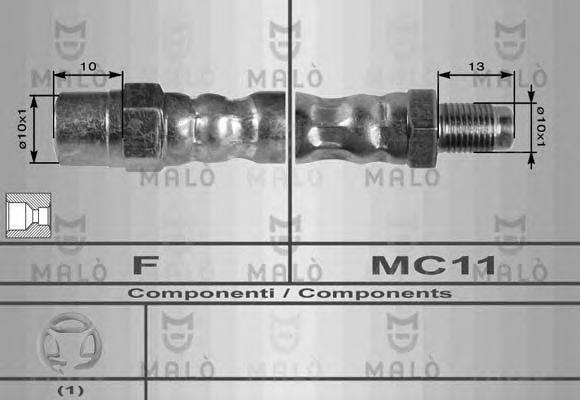 MALO 8226 Тормозной шланг