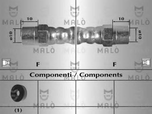 MALO 8227 Тормозной шланг