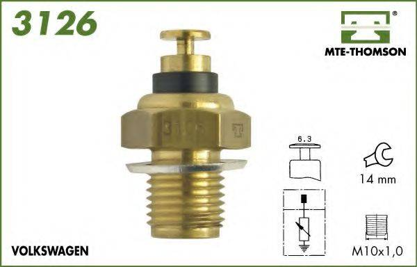 MTE-THOMSON 3126 Датчик, температура масла; Датчик, температура охлаждающей жидкости