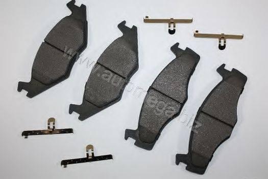 AUTOMEGA 316980151191G Тормозные колодки